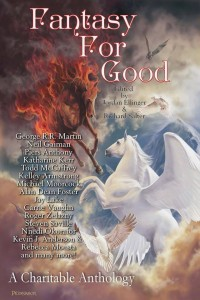 Fantasy For Good - the paperback cover
