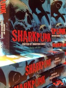 Sharkpunk print